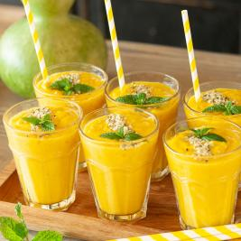 Natural smoothies at Arkhé Hotel Boutique