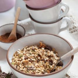 Organic granola Arkhé Hotel Boutique