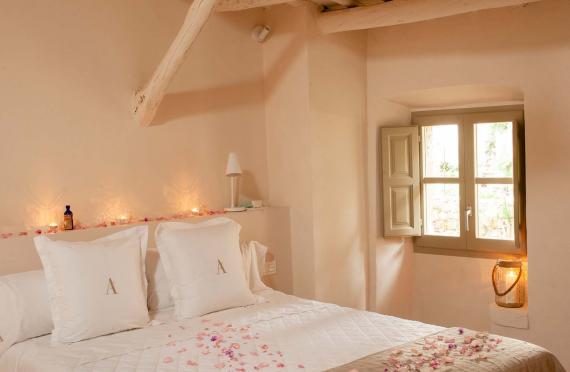 Chambre romantique à Pals